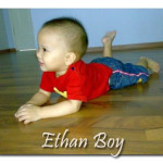 Ethan On All Fours!
