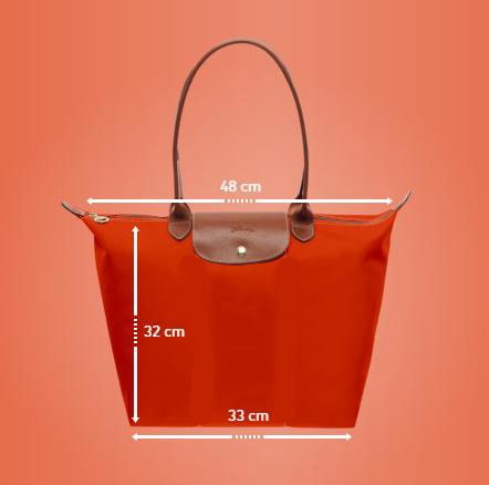 longchamp-dimensions
