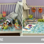 Decluttering Project: Kids' Craft Table